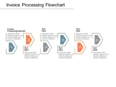 Invoice Processing Flowchart Ppt PowerPoint Presentation Gallery Designs Cpb