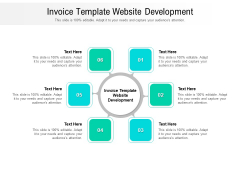 Invoice Template Website Development Ppt PowerPoint Presentation Ideas Cpb Pdf