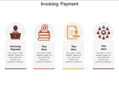 Invoicing Payment Ppt PowerPoint Presentation Professional Icon