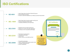 Iso Certifications Ppt PowerPoint Presentation Icon Background Designs