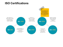 Iso Certifications Years Ppt PowerPoint Presentation Summary Outfit