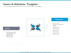 Issues And Solutions Template Diagrams PDF