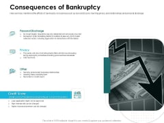 Issues Which Leads To Insolvency Consequences Of Bankruptcy Graphics PDF