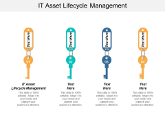 It Asset Lifecycle Management Ppt Powerpoint Presentation Model Professional Cpb