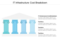 It Infrastructure Cost Breakdown Ppt PowerPoint Presentation Layouts Files Cpb