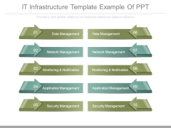 It Infrastructure Template Example Of Ppt