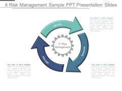 It Risk Management Sample Ppt Presentation Slides