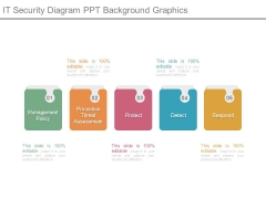It Security Diagram Ppt Background Graphics