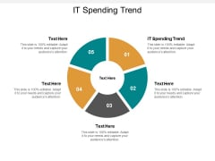 It Spending Trend Ppt Powerpoint Presentation Ideas Files Cpb