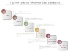 It Survey Template Powerpoint Slide Background