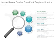 Iteration Review Timeline Powerpoint Templates Download