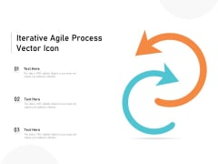 Iterative Agile Process Vector Icon Ppt PowerPoint Presentation File Aids PDF