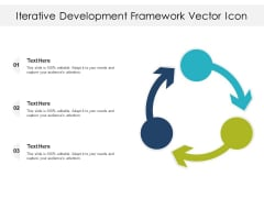 Iterative Development Framework Vector Icon Ppt PowerPoint Presentation File Grid PDF