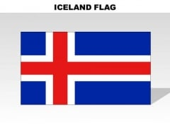 Iceland Country PowerPoint Flags