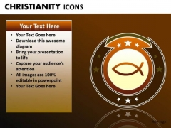 Ichthys Jesus Fish PowerPoint Ppt Packgrounds Ichthys PowerPoint Slides
