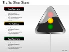 Icon Light Traffic Stop PowerPoint Slides And Ppt Diagram Templates