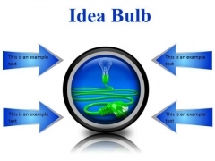 Idea Bulb Business PowerPoint Presentation Slides Cc