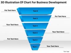Illustration Of Chart For Business Development Ppt Plan PowerPoint Slides
