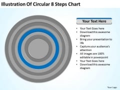Illustration Of Circular 8 Steps Chart Ppt Business Plan Help PowerPoint Templates