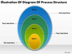Illustration Of Diagram Process Structure Business Plan PowerPoint Slides