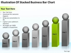 Illustration Of Stacked Business Bar Chart Ppt How To Start Plan PowerPoint Slides