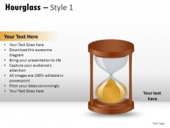 Image Isolated Hourglass 1 PowerPoint Slides And Ppt Diagram Templates
