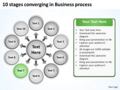 In Business PowerPoint Templates Free Download Process Ppt Radial Slides