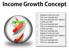 Income Growth Concept Finance PowerPoint Presentation Slides C