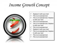 Income Growth Concept Finance PowerPoint Presentation Slides Cc