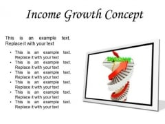 Income Growth Concept Finance PowerPoint Presentation Slides F