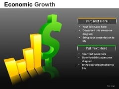 Increase In Financial Profits PowerPoint Templates