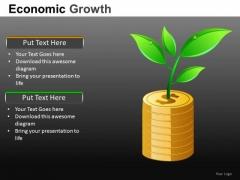 Increasing Wealth Money PowerPoint Slides