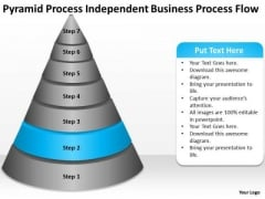 Independent Business Flow Ppt Executive Summary Plan PowerPoint Templates