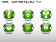 Industry Nuclear Power Warning Signs PowerPoint Slides And Ppt Diagram Templates