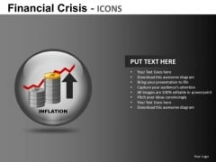Inflation PowerPoint Icons PowerPoint Templates