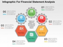 Infographic For Financial Statement Analysis PowerPoint Templates