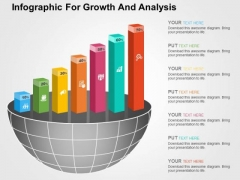 Infographic For Growth And Analysis PowerPoint Templates