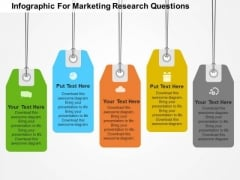 Infographic For Marketing Research Questions PowerPoint Template