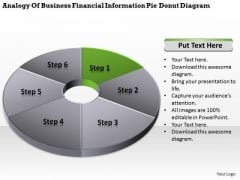 Information Pidonut Diagram 6 Stages Business Plans Templates Free PowerPoint
