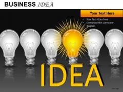 Innovative Team Idea Bulb PowerPoint Slides And Ppt Diagram Templates