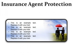 Insurance Agent Protection Security PowerPoint Presentation Slides R