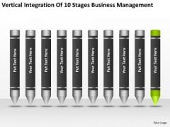 Integration Of 10 Stages Business Management Ppt Plan PowerPoint Slide