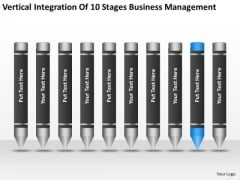 Integration Of 10 Stages Business Management Ppt Plan PowerPoint Slides