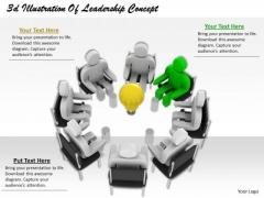 International Marketing Concepts 3d Illustration Of Leadership Basic Business
