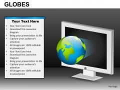 Internet Computer World Access PowerPoint Slides And Ppt Diagram Templates