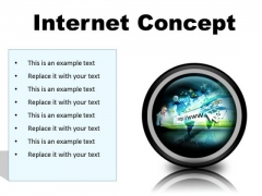 Internet Concept Business PowerPoint Presentation Slides Cc