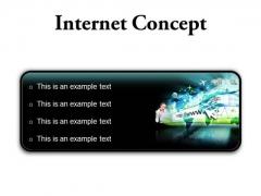Internet Concept Business PowerPoint Presentation Slides R