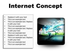 Internet Concept Business PowerPoint Presentation Slides S