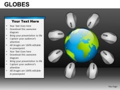 Internet Connected World PowerPoint Slides And Ppt Templates