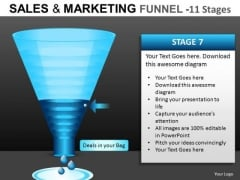 Internet Conversion Funnel PowerPoint Templates
